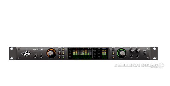 Universal Audio Apollo X8 Modern Design Audio/midi Interfaces Pro Audio Equipment